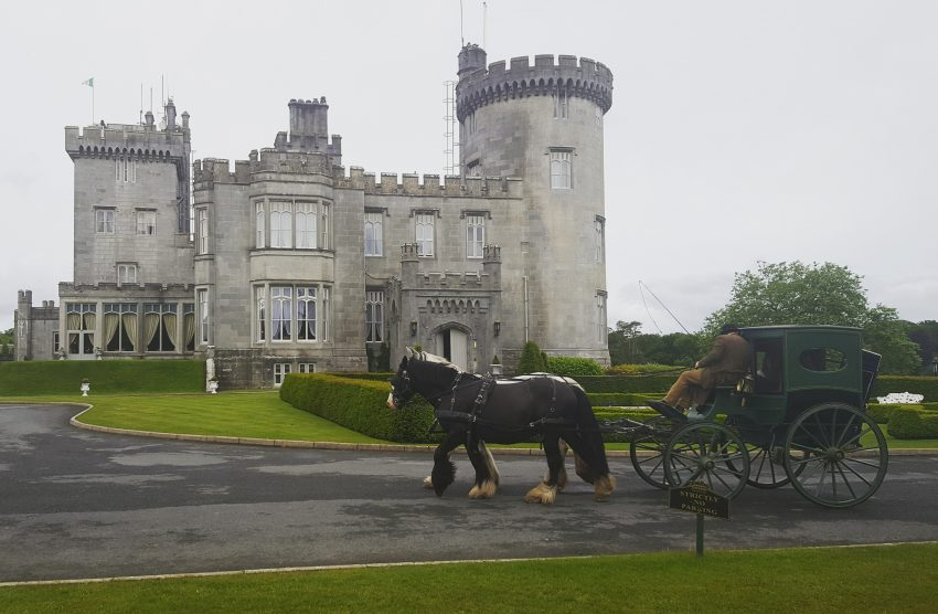 When visiting Ireland with your family, everyone can feel like royalty when booking a room at Dromoland Castle.