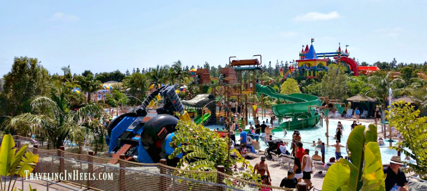 Every kid loves a water park and LEGOLAND California theme park features two water parks!