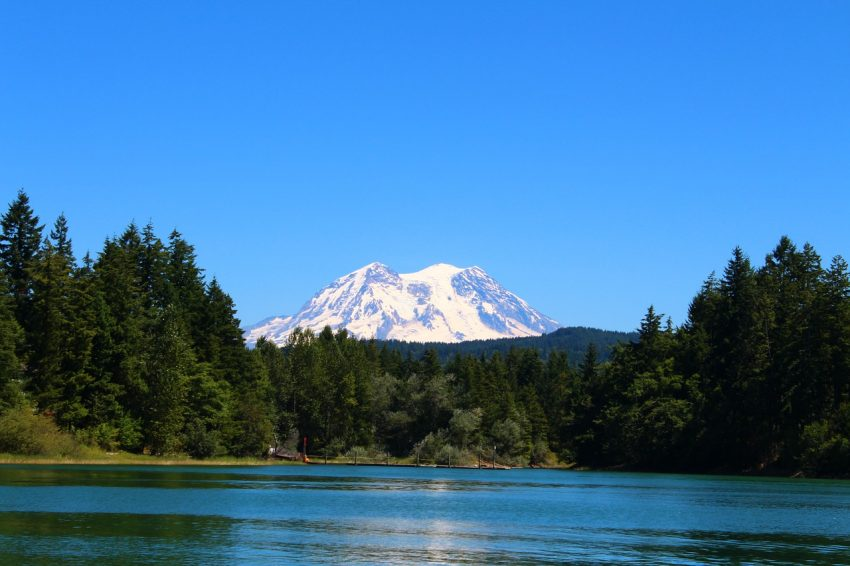 One of your amazing cabin rentals in the mountains should include a visit to Mt. Rainier in Washington.