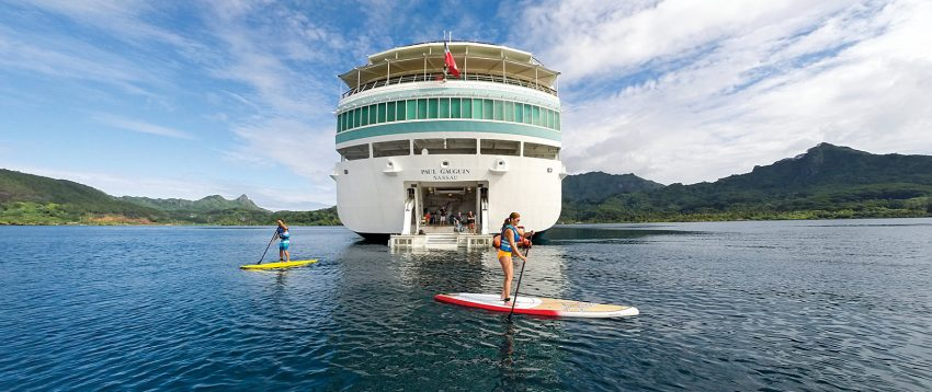 Best cruises for women over 50 include adentures onboard Paul Gauguin cruises to escape the winter chill/ Photo: Paul Gauguin