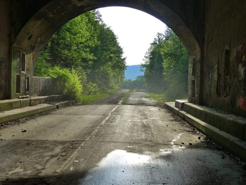 Stay in a cabin rental in the Mountains and explore the Pennsylvania Dutch Country including attractions like its covered bridges.