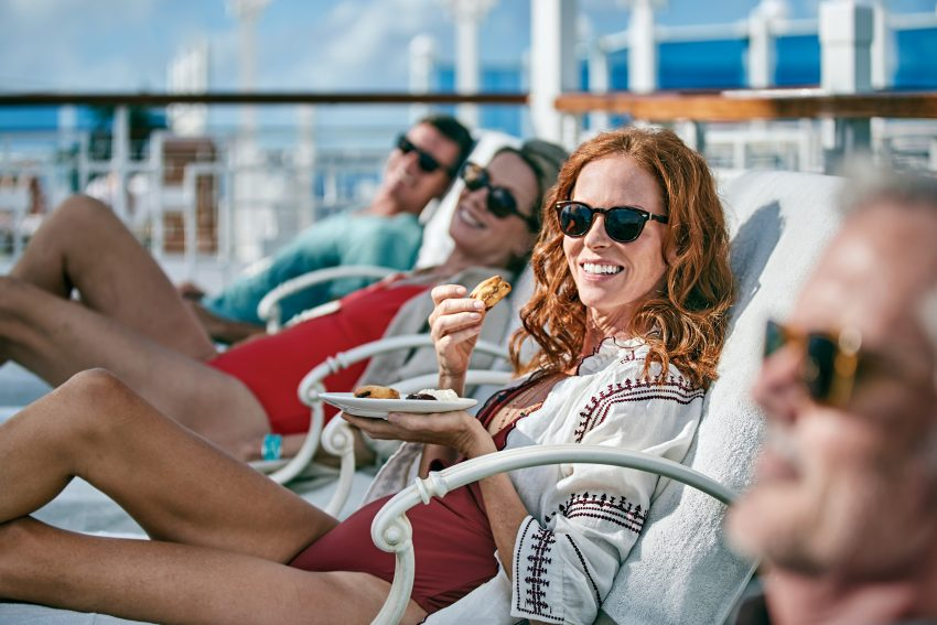 Princess Cruises are perfect cruises for women over 50.