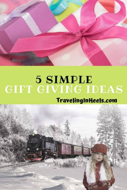 From personalized gifts to homemade cookies, here are 5 simple gift giving ideas for your family and friends. #giftgivingideas #giftideas #multigenerational
