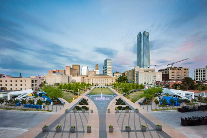 Visit Oklahoma City and experience so many things to do in OKC including the Oklahoma City National Memorial & Museum. Photo credit: Visit OKC