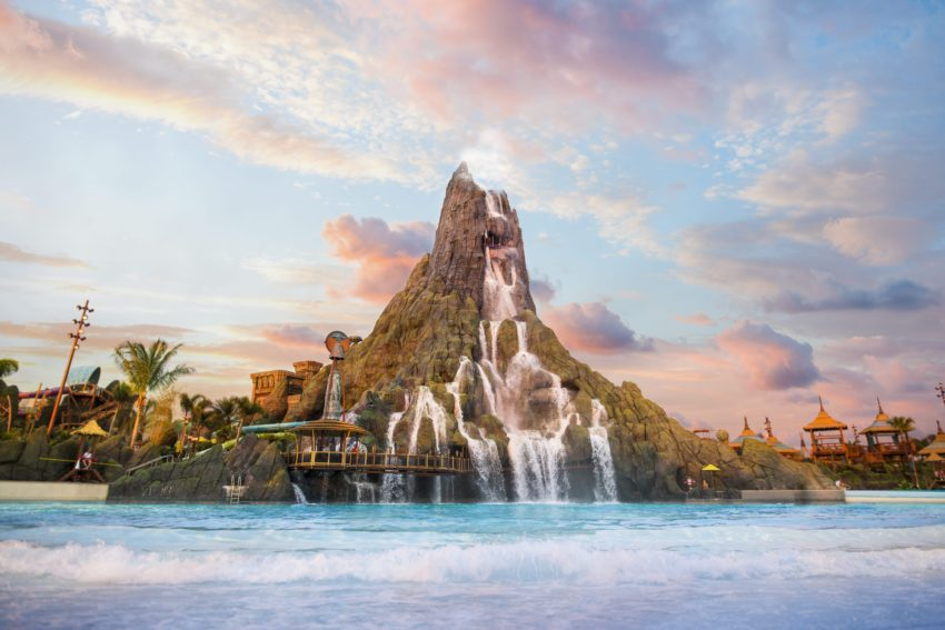 Universal's Volcano Bay is a one-of-a-kind, fully-immersive water theme park experience, offering guests a hassle-free way to enjoy the park's unique attractions, ranging from daring to serene.