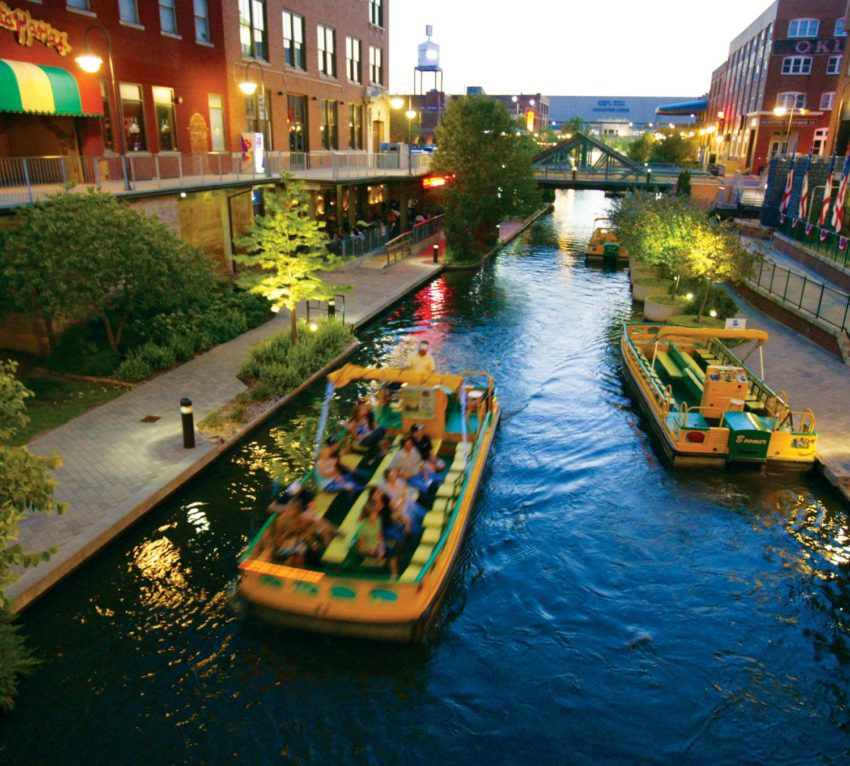 Bricktown, an historic district in Oklahoma City, is one of the many fun things to do, and a great location to plan a hotel stay.