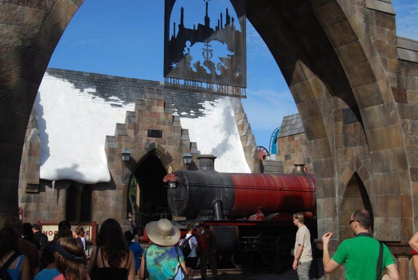 All aboard Hogwarts Express at Universal Orlando.