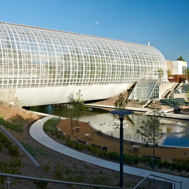 Run, play, and explore the Myriad Botanical Gardens in Oklahoma City