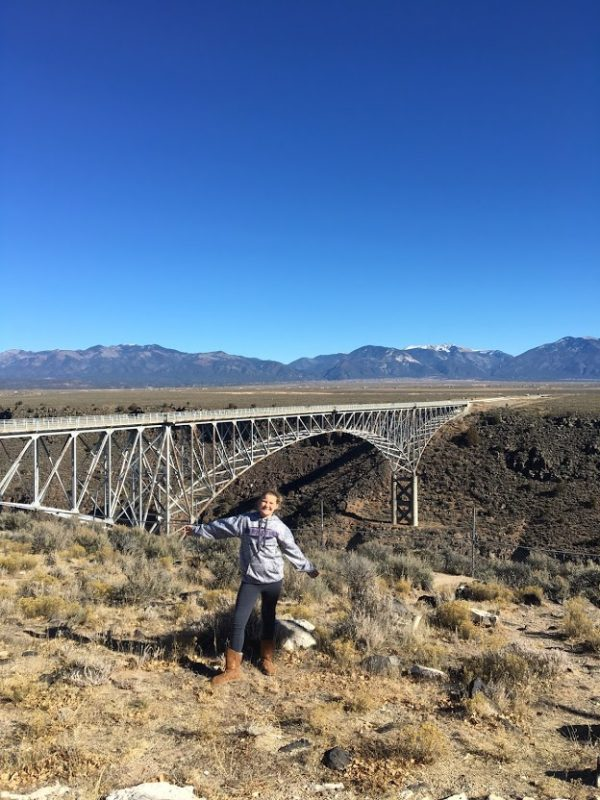 Located near Taos is the Rio Grande Gorge Bridge, the second highest bridge on the U.S. Highway system.