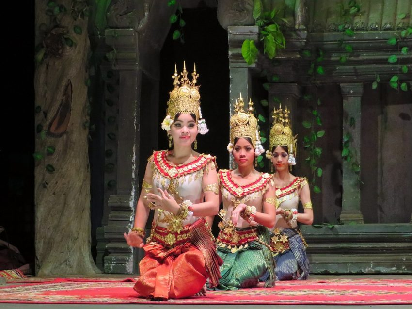 Southeast Asia offers diverse attractions, food and cultural activities including experiencing Cambodian dancers.