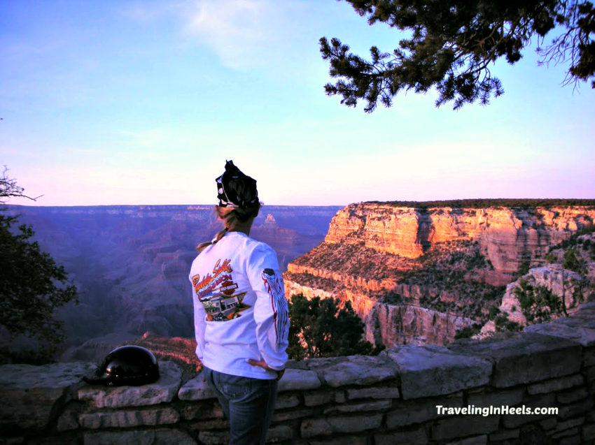 Travelers can't help but say WOW when first seeing the expansive Grand Canyon.