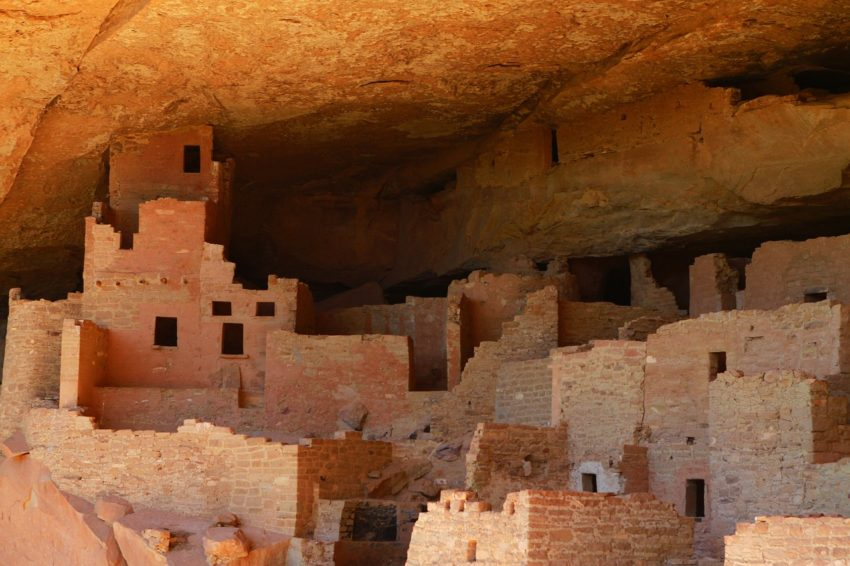The Cliff Dwellings in Mesa Verde will leave you speechless at the glimpse of the ancient Ancestral Pueblo culture.
