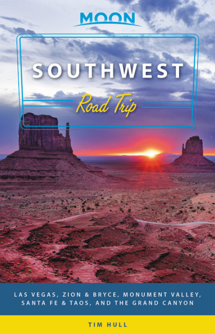Looking for inspiration for your southwest road trip? You need the Moon Southwest Road Trip guide.