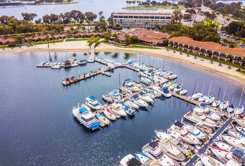 Love Pickleball? Then you'll love this Pickleball in Paradise San Diego vacation package at Bahia Resort on Mission Bay. Photo: Get Away Today