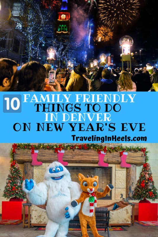 From #NYE fireworks to ice skating to ice sculpture, 10 #familyfriendly things to do in #denver on New Years Eve #NYEwithkids #denverNYE #familyvacation #multigentravel #coloradotravel