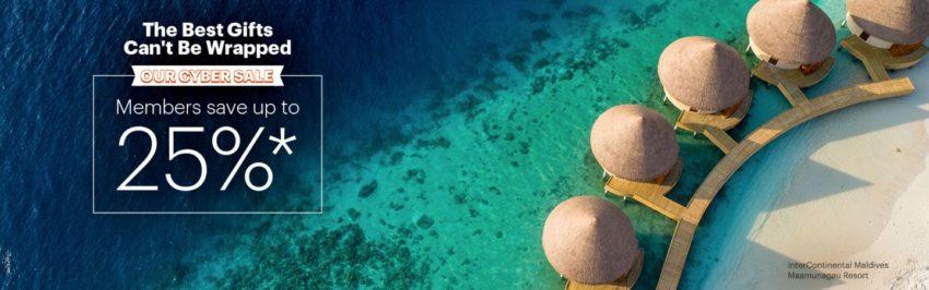Save up to 25% on IHG Hotel & Resorts Members Cyber Sale. Photo: IHG
