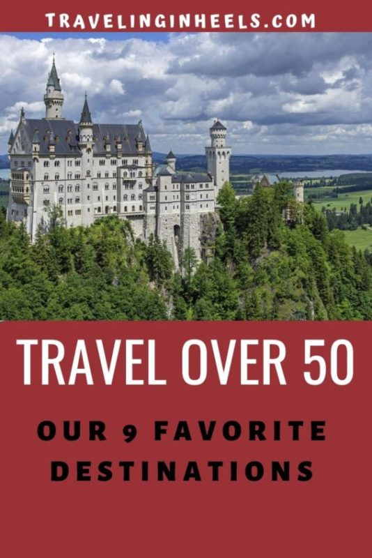 From Croatia to Germany, Italy to The Maldives, #travelover50 to our 9 favorite destinations #topdestinations #travelbucketlist