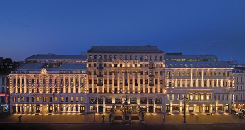 The Corinthia Hotel St. Petersburg features its own Christmas Market.