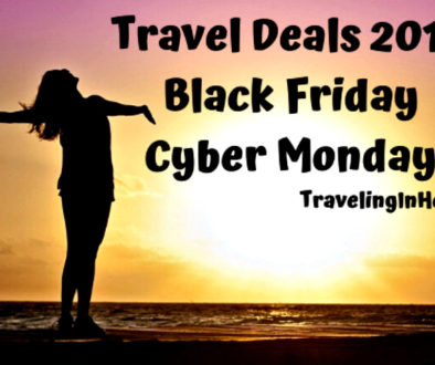 Ready. Set. Travel Deals! Preview and then get ready to travel with these Black Friday Travel Deals 2019 into Cyber Monday