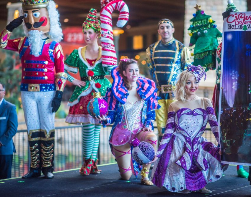 Add an exciting holiday celebration at The Gaylord Rockies with tickets to Cirque Dreams Holiday Daze.