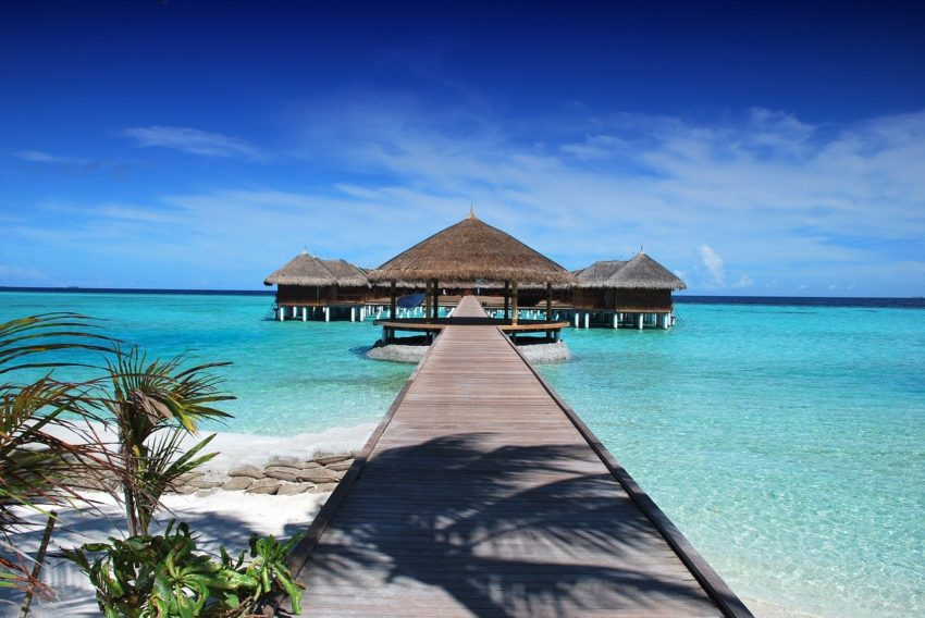 Crystal clear waters, beautiful beaches, and resorts to take your breath away - this is The Maldives