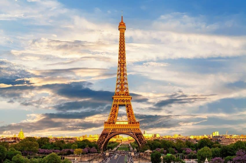 Oh yes you want to visit France, including a stop at the Eiffel Tower in Paris.