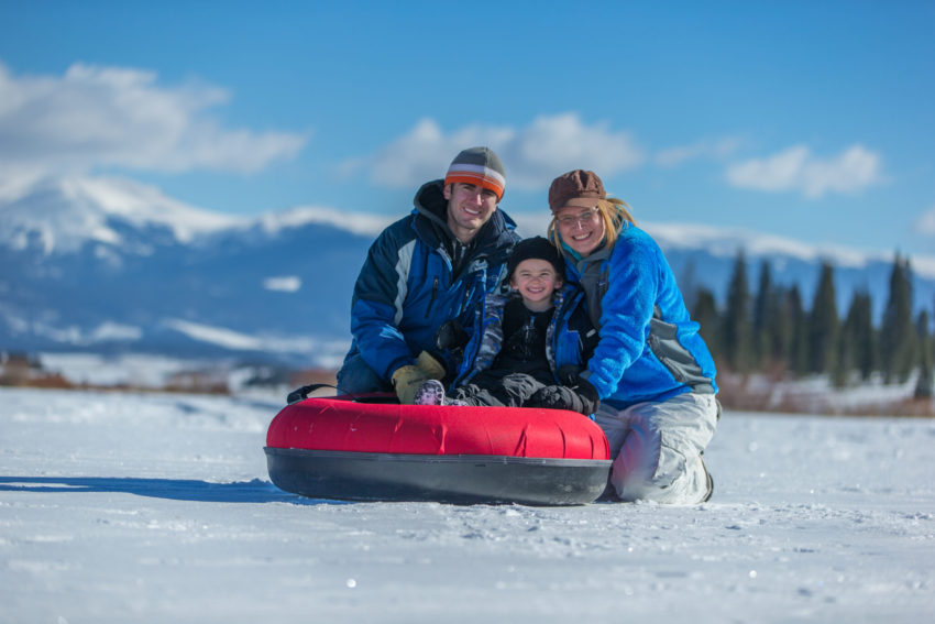Experience Colorado winter with this Cyber Monday travel deal to the YMCA of the Rockies. Photo credit: Snow Mountain Ranch