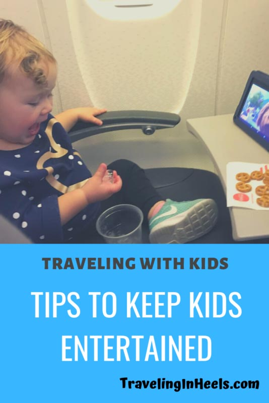 Traveling with Kids -- tips to keep kids entertained #traveltips #travelingwithkids #multigentravel #familyvacation