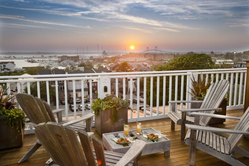Not only is this one of the 6 unique hotels, but the view from The Vanderbilt, this historic Newport mansion, is amazing!