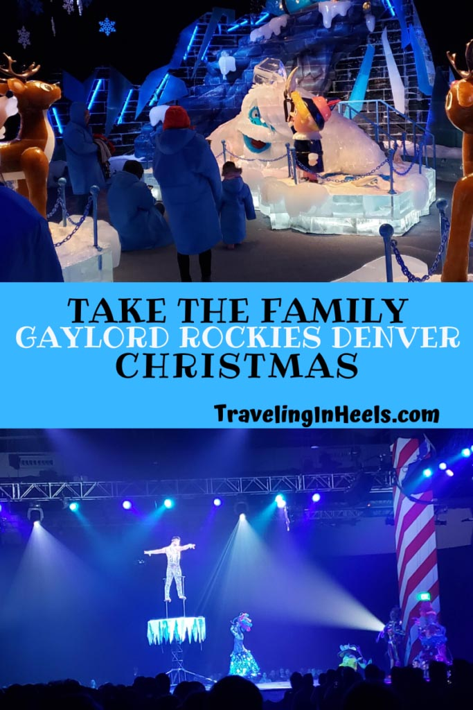Take the famly this holiday to Gaylord Rockies Christmas festivities in Denver, Colorado #GaylordRockiesChristmas #Denverholidays #gaylordrockies #familytravel #familyvacation #multigentravel