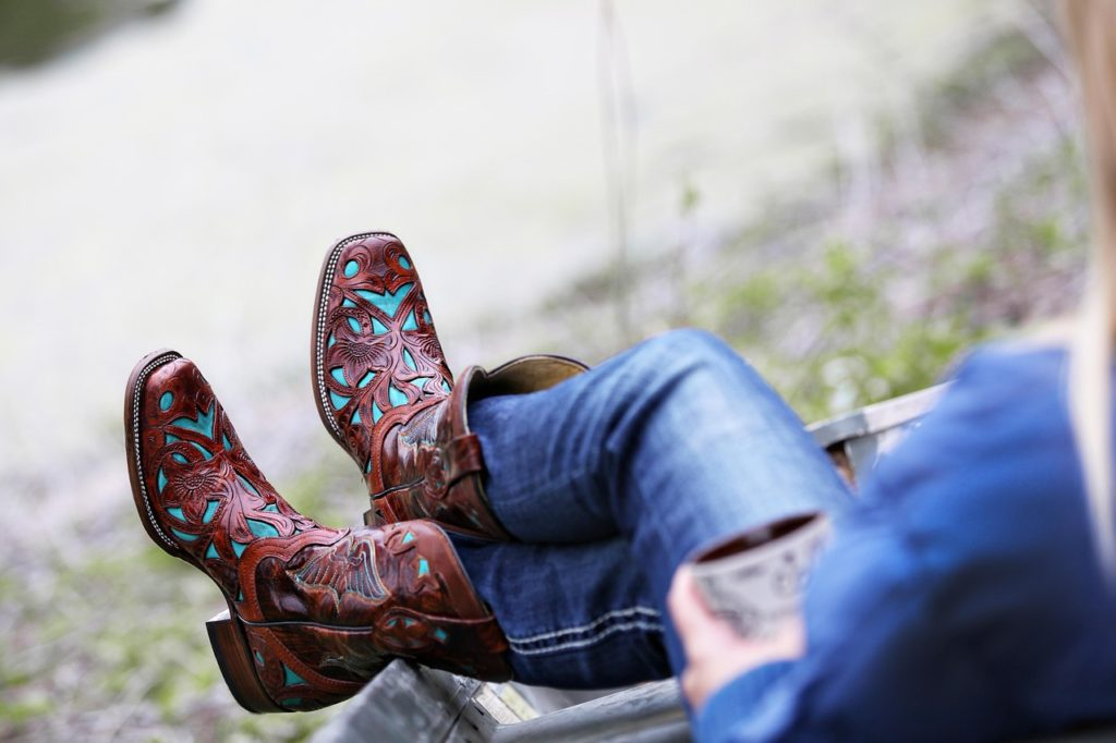 Western boots or booties are perfect to complement any style