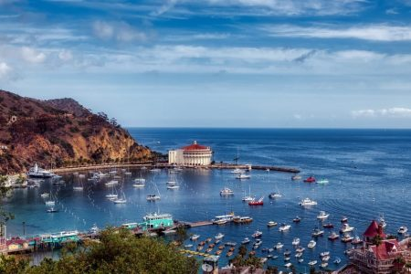 Catalina Island's clear blue waters and Mediterranean climate and ambiance are a Shangri-La.