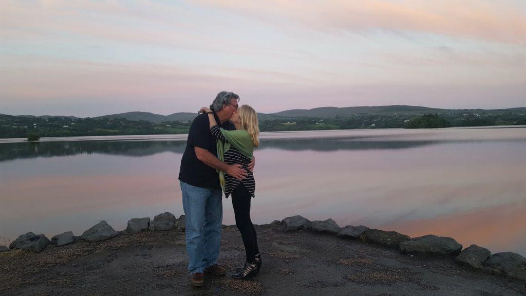 A romantic vacation + an amazing Irish sunset near your romantic hotel, Harvey's Point = the perfect romantic vacation.
