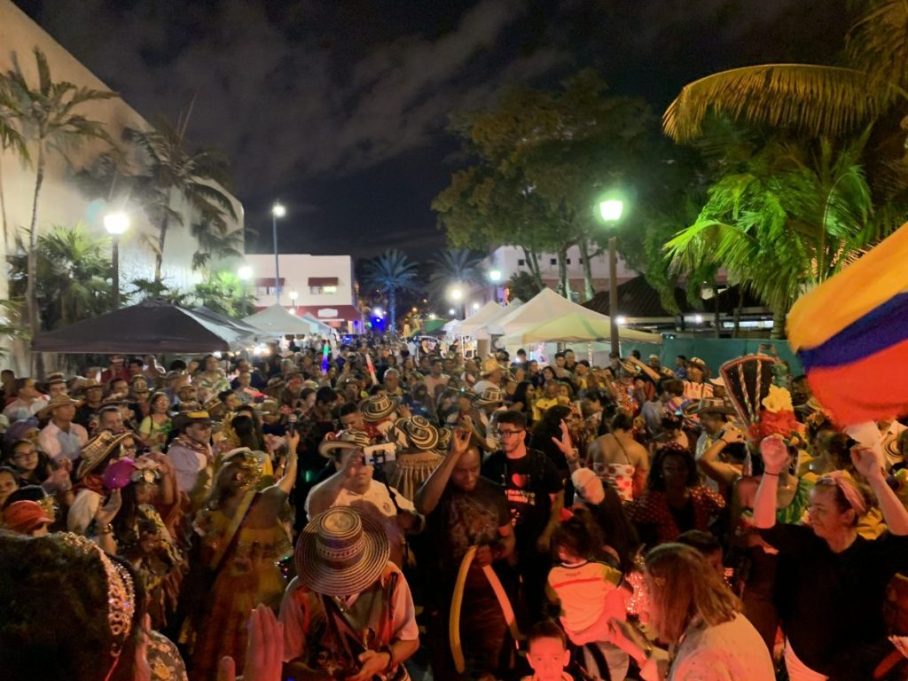 Every third Friday, join Viernes Culturales, Miami's popular art and culture festival in Little Havana. Photo: Viernes Culturales