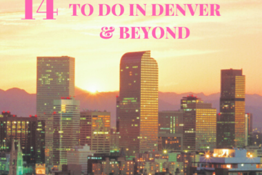From chocolate to fireworks, hot springs to a hot night out, these are my top romantic things to do in Denver from a local. #romanticDenver #denverromantic #thingstodoindenver #romanticthingstodoindenver