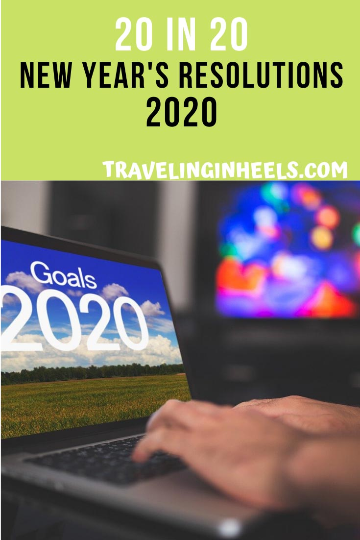 Welcome to a new decade! 20 in 20 New Year's Resolutions 2020 #newyearsresolutions #debtfree #travelmore #travelinspiration #multigentravel #familyvacation