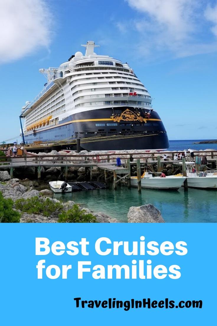 Best Cruises for Families #bestcruisesfamilies #familyvacation #disneycruiseline #royalcaribbeancruises #carnivalcruises