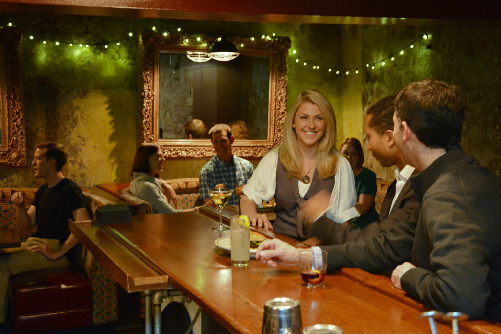 Dive into Denver's underbelly with a stop at Green Russell.