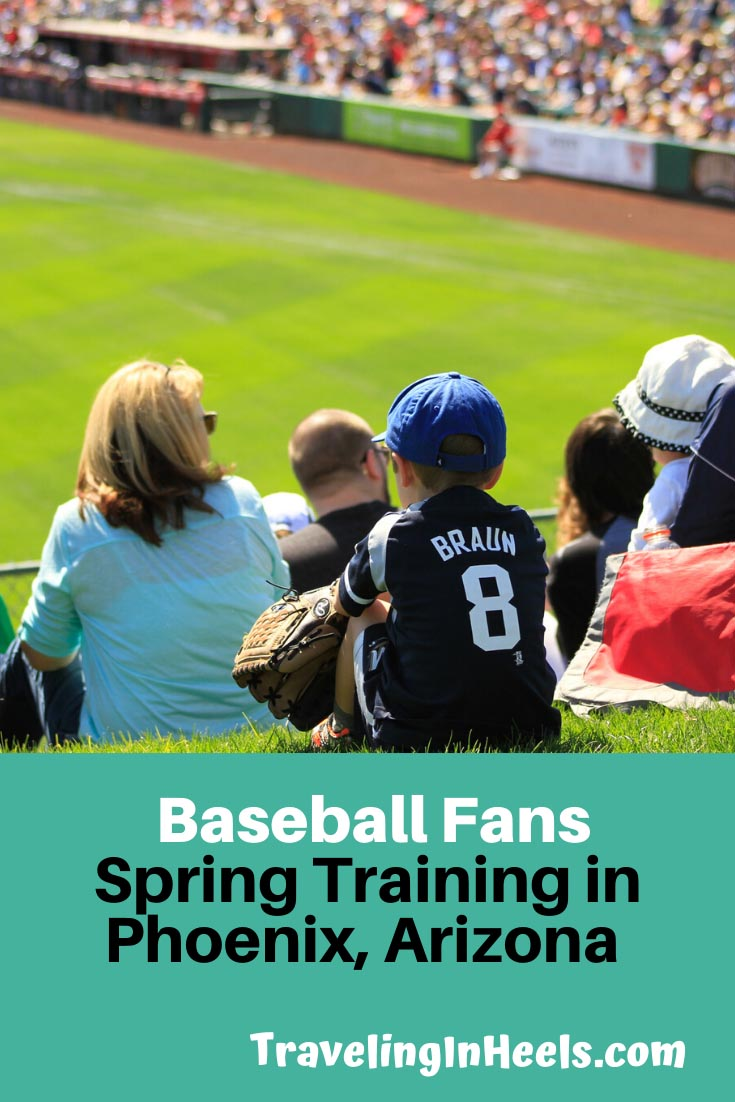 Calling all Major League Baseball fans! Don't miss spring training in Phoenix for your next vacation #springtraining #baseballfans #springtrainingphoenix #familyvacation #multigentravel