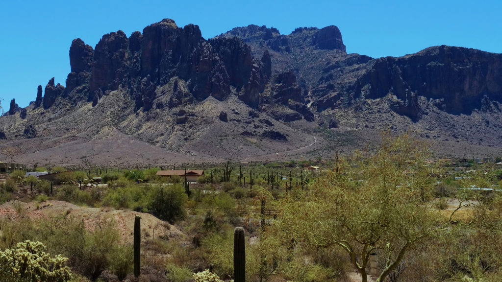 don't miss exploring Phoenix and the surrounding area and its outdoors including Superstition Mountains. Photo credit: Lu Yang / Arizona Office of Tourism