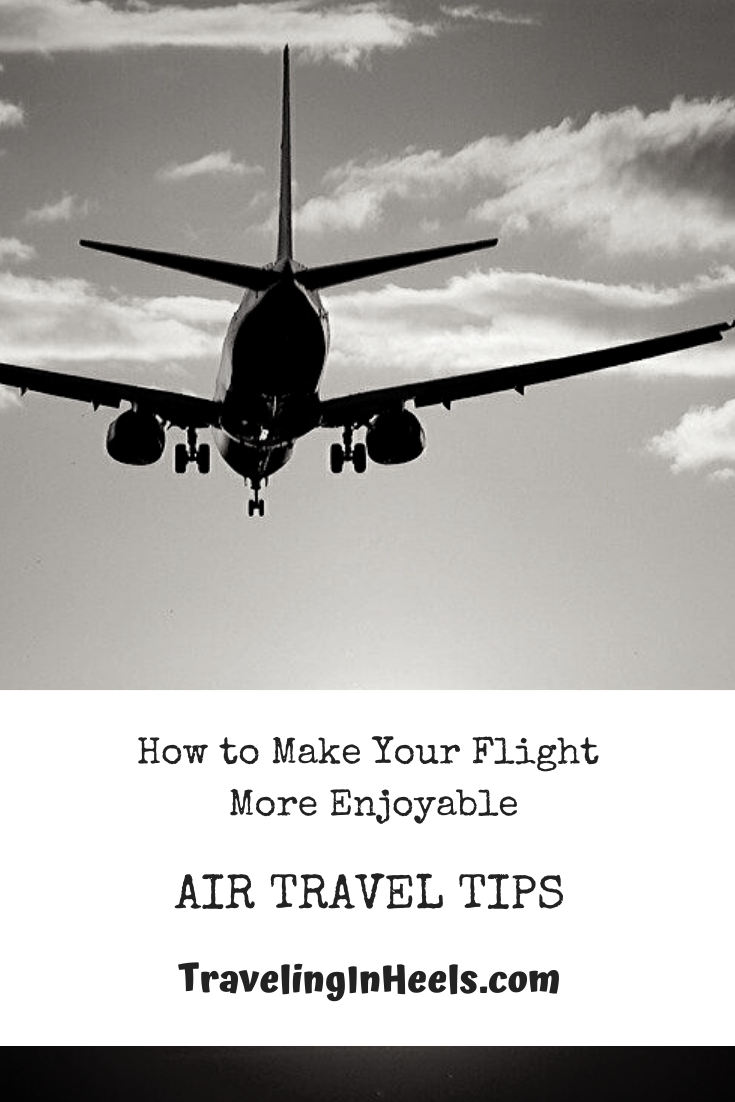 From healthy eating to sleeping tight, here are 6 air travel tips on how to make your flight more enjoyable. #airtraveltips #jetlag #familyvacation #multigentravel