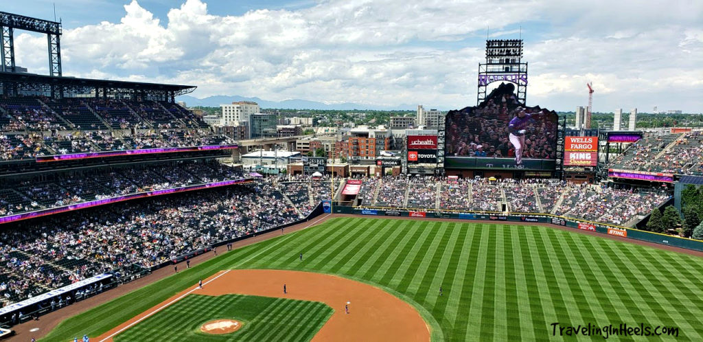 Take your sweetheart to the ball game, Rockies Baseball at Coors Field,