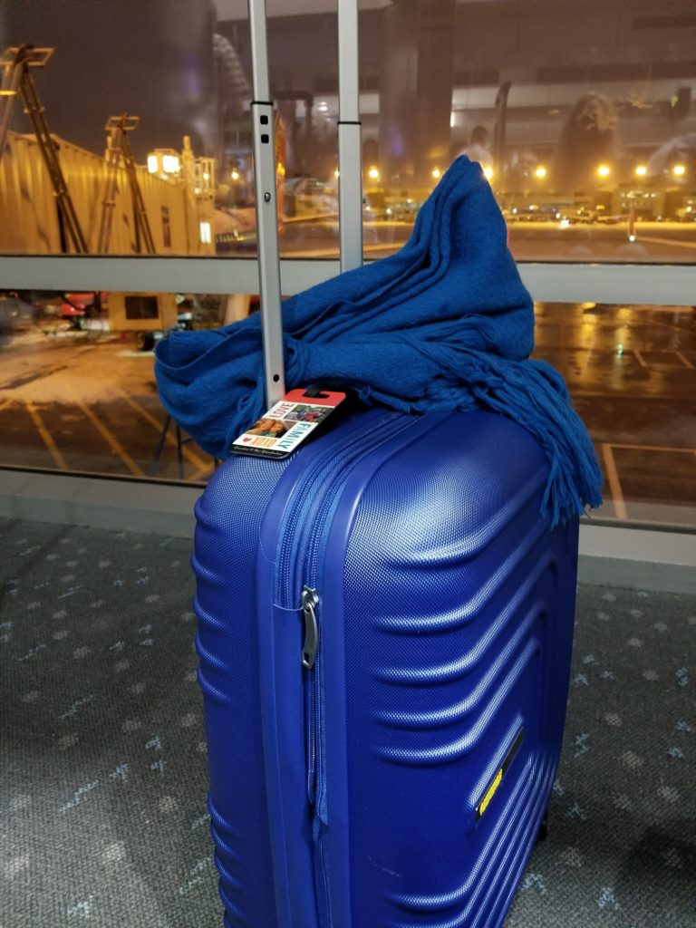 My perfect carry-on is the American Tourister expandable hardside luggage with spinner wheels.