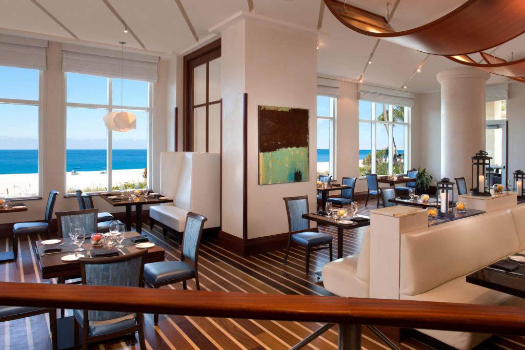 Make it a fancy getaway with accommodations AND fine dining at 3800 Ocean. Photo credit: Palm Beach Marriott Singer Island Beach Resort & Spa