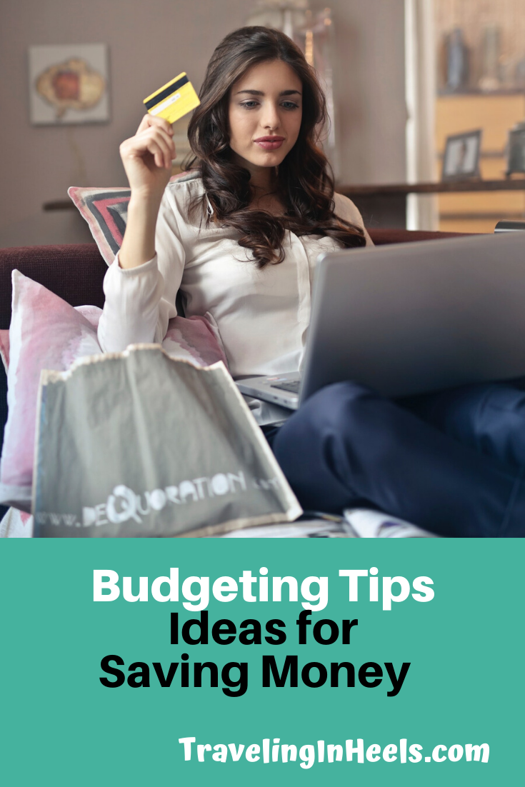 From budgets to mindful monitoring, we offer these simple tips and ideas for saving money. #budget #ideasforsavingmoney