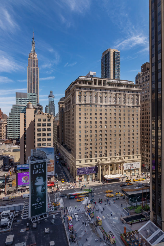 This Manhattan hotel is located across the street from Madison Square Garden and Penn Station. Photo credit: Hotel Pennsylvania