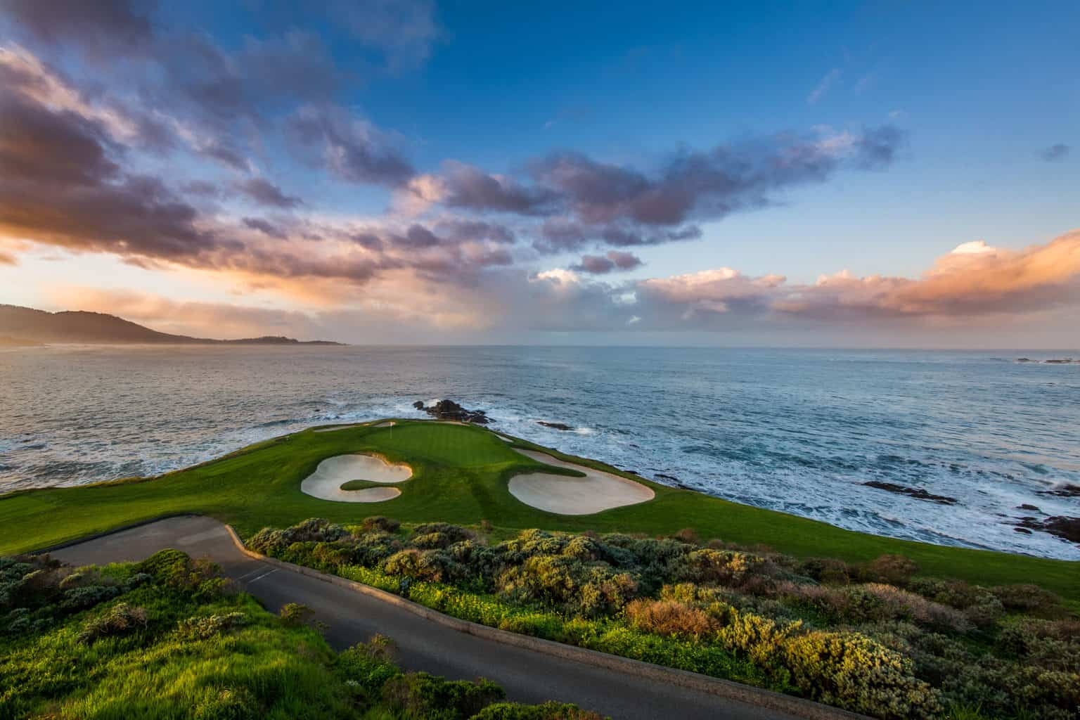 On every golfer's bucket list, a round at Pebble Beach.