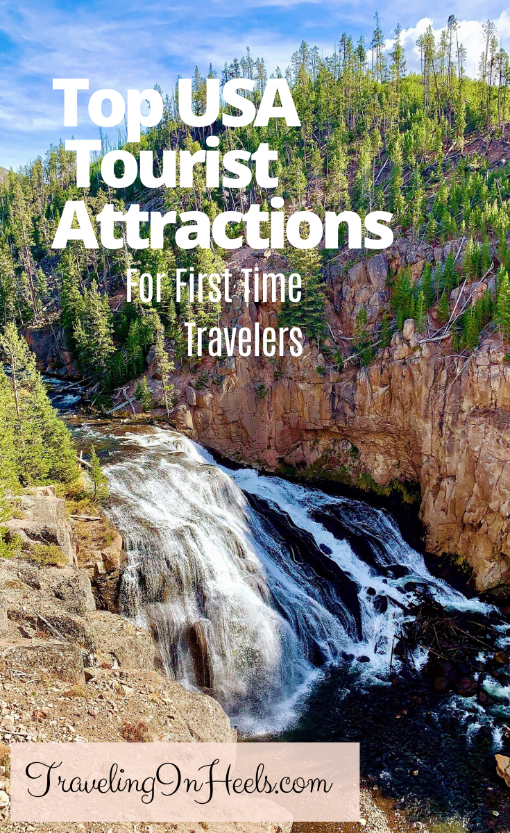 From New York City to California, national parks to Hollywood, these are the top USA tourist attractions for first time visitors #topusaattractions #usaattractions #usattractions #unitedstatestravel #familyvacation #multigentravel