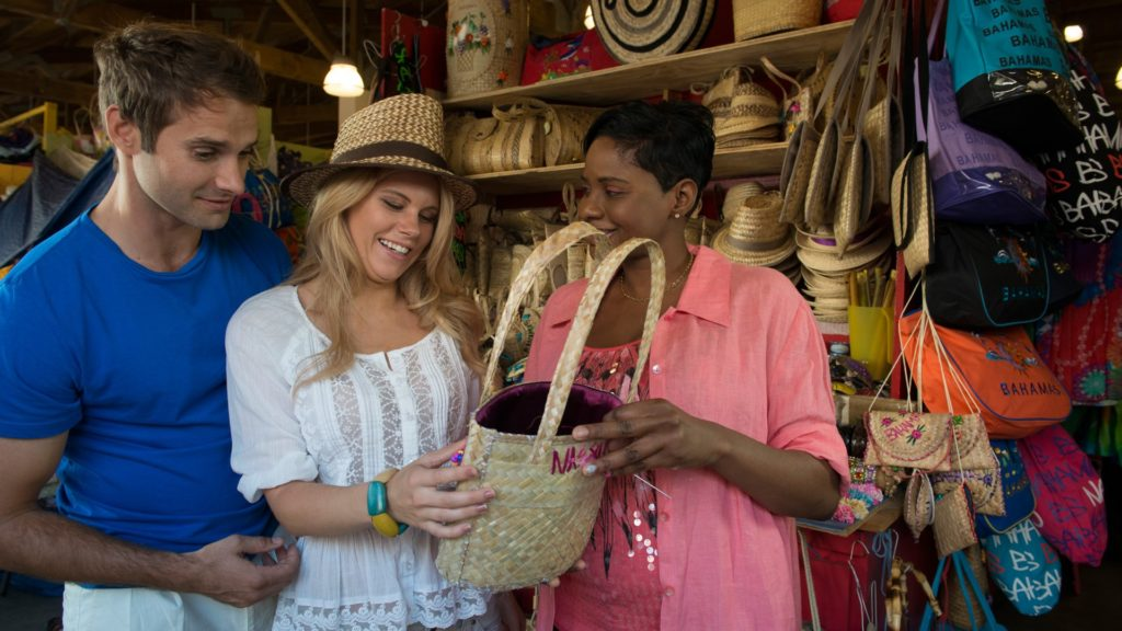 Take home hand-made Bahamian crafts and gifts at the famous Straw Market.
