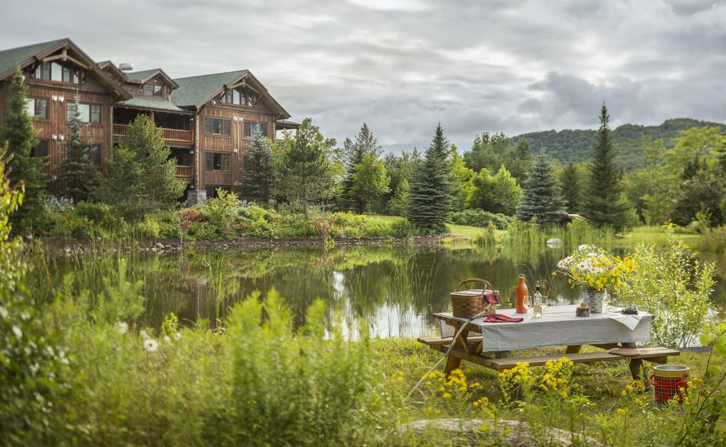 Whiteface Lodge is an all-season vacation getaways.